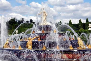 Visita guiada de Versalles y espectáculo de las fuentes opcional