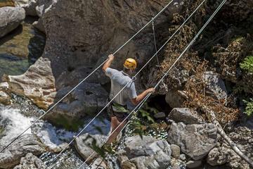 Aventure en tyrolienne à Canyon Park
