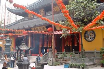 黄浦江クルーズ付き上海観光ツアー - 午後発