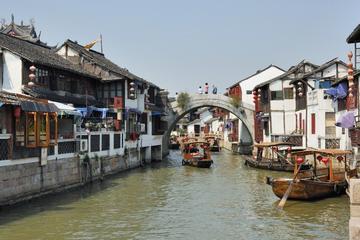 Excursión de medio día a Zhujiajiao, el pueblo del agua