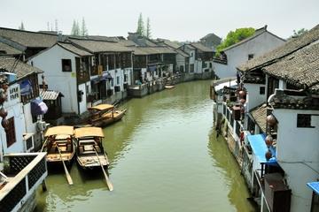 Excursion d'une journée à Zhujiajiao et la Ville aux Sept Trésors au...