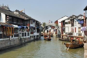 Visite d'une demi-journée au village aquatique de Zhujiajiao