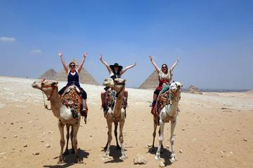 Full-Day Cairo Tour of Giza, Step and Red Pyramid