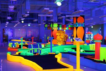 Glow In The Dark 18 Hole Mini Golf in...