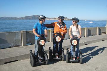 Alcatraz og tur med ståhjuling i bakkeområdene i San Francisco