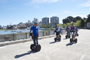 Segway Tour langs waterkant van San Francisco