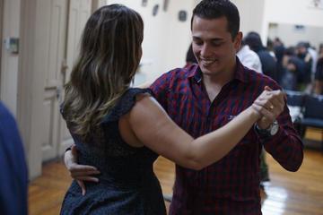 Clase de tango privada en el Complejo Tango