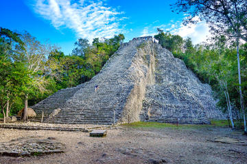 4X1 Adventure: Coba, Tulum, Cenote and Playa del Carmen from Cancun