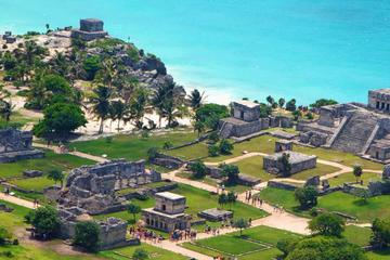Coba and Tulum Ruins, Playa del Carmen and Cenote Experience from Cancun
