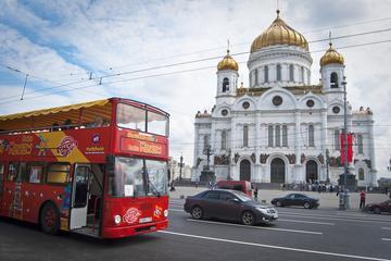 Circuit touristique en bus à arrêts multiples à Moscou