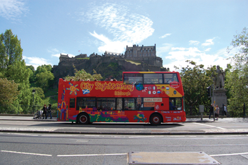 City Sightseeing i Edinburgh på...