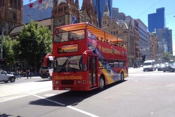 Stadsrundtur i Melbourne med hop on hop off-rundtur