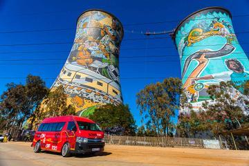Tour combinato di Johannesburg: tour Hop-On Hop-Off della città e di