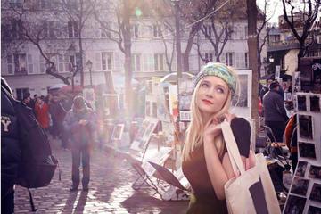 パリのボボ街ショッピング ツアー