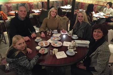 Sortie shopping familiale dans Paris