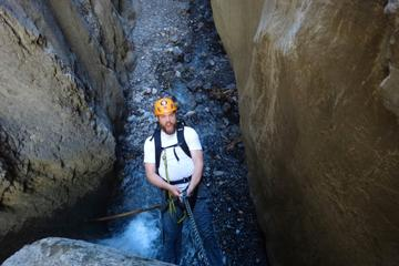 Canyoning in Jasper