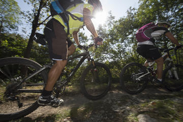 Private Tour: Stockholm's Secret Mountain Biking Gems