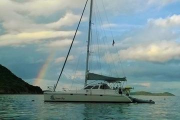 US Virgin Islands Private Small-Group Catamaran Day Sail