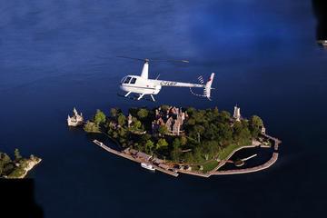 Hubschrauberrundflug: Boldt Castle und Thousand Islands