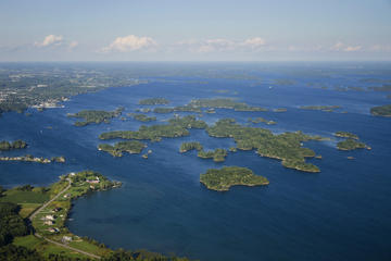 Day Trip Ultimate Thousand Islands Helicopter Tour near Gananoque, Canada