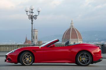 Ferrari-Testfahrt in Florenz