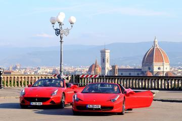 Prueba de conducción en Ferrari en Florencia