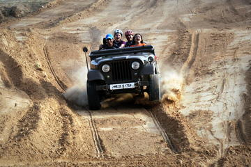 Jeep Safari Day Trip to Kanota Lake from Jaipur
