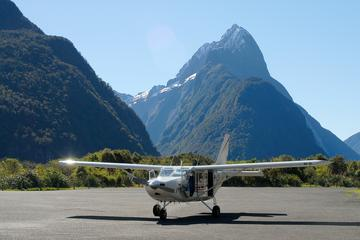 Milford Sound Landing and Glaciers...