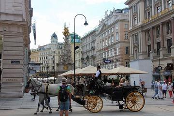 Romantische Tour durch Wien mit Fiaker und Sachertorte ab Budapest