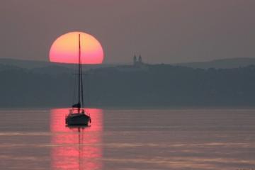 Viaggio privato di un giorno al lago Balaton da Budapest