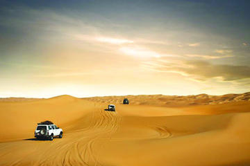 Safari por el desierto con cena de barbacoa desde Dubái: conducción...
