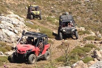 Aventure en buggy hors route en Crète