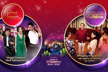 Tíquete para experiência completa no Madame Tussauds Cingapura