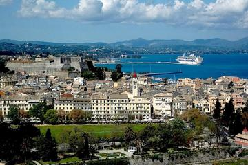 Corfu Town Round Trip Shuttle from Cruise Port