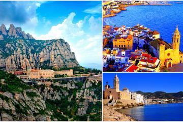 Tour de día completo a Montserrat y Sitges: Caminata sencilla con...