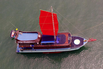 Private Charter: Red Dragon Junk Sail Yacht 75f for Island Hopping...
