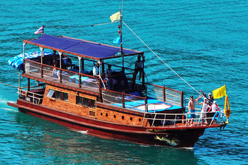 Private Charter: The Blue Dragon Classic Thai Yacht 62ft to Ang Thong...