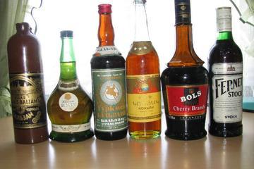Taste of alcohol of USSR