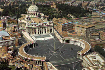 Tidig rundtur i liten grupp i Vatikanen