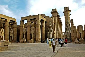 Grand Luxor and Karnak Temples by private Touring van to enjoying the sunset in Temples