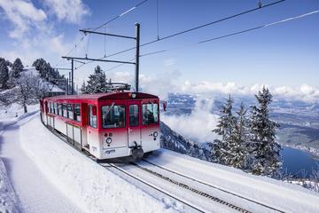 Entrada de invierno al Monte Rigi