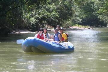 Safari Float by Inflatable Raft in Peñas Blancas River
