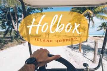 Holbox Island hopping with lobster