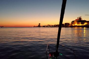 Lisbon Private Sunset Sailing Tour with Sushi Dinner