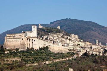 Assisi Cortona and Wine Tasting Shore Excursion from Civitavecchia Port