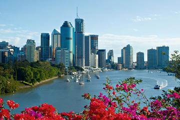 Stadtrundfahrt und Bootsfahrt über die Wasserwege Brisbanes
