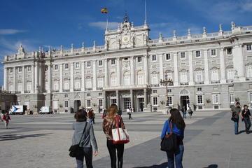 マドリッドシティー観光と優先入場の大宮殿ガイド…