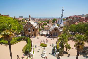 Billet coupe-file: visite du parc Güell et de la Sagrada Familia à...
