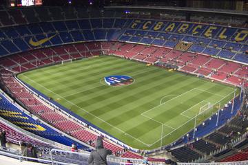 Billetter til tur på FC Barcelonas fodboldstadion og museum