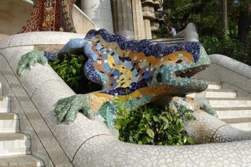 Evite as filas: excursão a pé guiada: Parque Güell de Gaudí em...